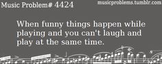 happend all the time at orchestra practice. Finally someone else in orchestra! Flute Problems, Band Problems, Orchestra Problems, Orchestra Humor, Music Jokes, Music Humor, Funny Music, Band Nerd, Marching Band Memes