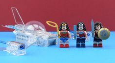 All the Wonder Woman from set 6862, 76026, 76046 and 71209. Original picture by…