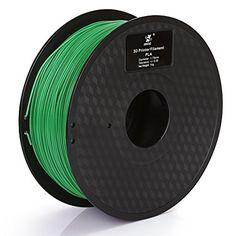 Efficient Amazonbasics Premium Pla 3d Printer Filament Black 1.75mm 1 Kg Spool Special Summer Sale