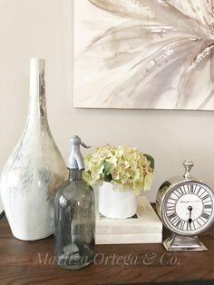 Staging Vignette by Maritza Ortega & Co. Home Staging, Vignettes, Homes, Simple, Diy, Inspiration, Ideas, Home Decor, Biblical Inspiration