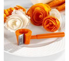 Spirálka na zeleninu Naan, Usb Flash Drive, Kitchen, Carving, Deco, Tips, Style, Salads, Carrot