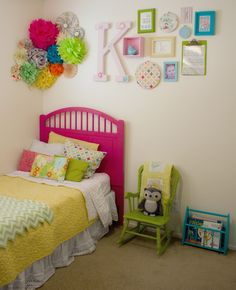 Cute girl bedroom