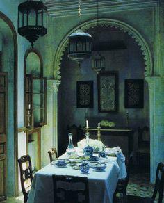 Architect Roberto Peregalli's Tangier home