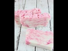 Hot Process - Candy Cane Soap w/ Recipe