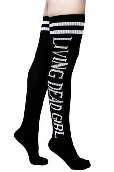 89b469b77b2 KILLSTAR Living Dead Girl Long Socks