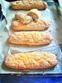 #Grainfree EXTRA Cheesy Garlic Breadsticks using coconut flour  #glutenfree #yeastfree + can be made #dairyfree