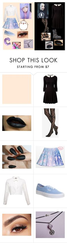 """""""Personality Crisis"""" by fadedvibes ❤ liked on Polyvore featuring Express, Vans and Lancôme"""