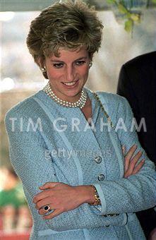 February 8, 1995: Princess Diana at The Umeda Akebono Gakuen Day Care Center in Adachi, Japan.