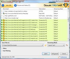 DownThemAll, gestiona tus descargas en Windows desde Firefox
