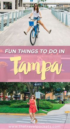 Check out all the fun things to do in Tampa, Florida!