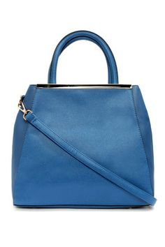 Tote Couture Blue Tote at LuLus.com! Aww, this is sold out. Love this color.