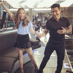 Maddie Ziegler and Mario Lopez 'bust a move' together  http://ift.tt/2m0t9PB