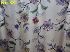 Free shipping 100% mulberry silk fabric charmuse silk printed china nature pure silk fabric multicolors SCF-AP