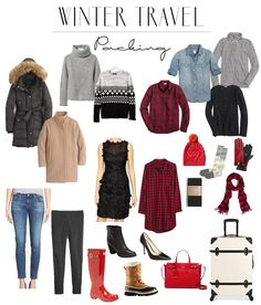 same basic principles apply for winter travel, except probably even more so, because the pieces you are packing are typically quite a bit bulkier and theref. Outfit for travel winter Winter Travel Packing, Travel Capsule, Winter Travel Outfit, Travel Wear, Travel Dress, Travel Style, Winter Outfits, Travel Outfits, Travel Fashion