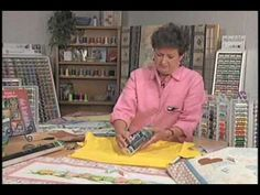 Watch and learn as Carol ingram, Creative Designer for Sulky of America, shows you how to make wonderfully embellished t-shirts or quilts using crayons, sand paper, Sulky Totally Stable, and Sulky Rayon Thread!