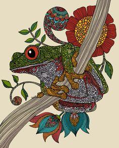 Froggie ~ by Valentina Ramos