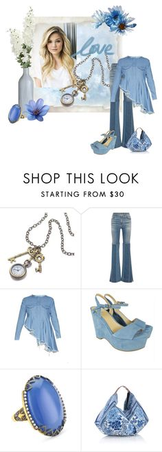 """Olivia Holt"" by swervin35 ❤ liked on Polyvore featuring Sweet Romance, Roberto Cavalli, Marques'Almeida, MICHAEL Michael Kors, Azaara and Accessorize"