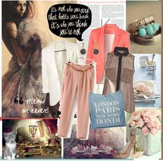 Life is about taking chances, so move yourseft towards new directions girl ! New Paris, Never, York, London, Polyvore, Shopping, Design, Women, Fashion