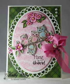 Hang In There! by rosekathleenr - Cards and Paper Crafts at Splitcoaststampers