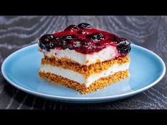 Nu veți mai putea trai fara acest desert! Tartă PERFECTĂ fara coacere.   SavurosTV - YouTube Cheesecake, Mai, Desserts, Food, Youtube, Sweets, Pie, Tailgate Desserts, Deserts