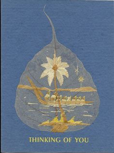 Leaf art  Beautiful Scenery  Nature Trees house sea by museumshop, $6.99. No two leaf or leaf art looks exactly alike.