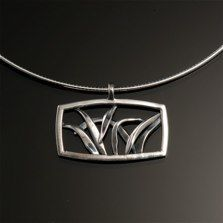 """3124Sterling13/16"""" l x 1 1/8"""" wRiparian Collection"""