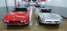 Iso Grifo and Bizzarrini GT 5300 Strada