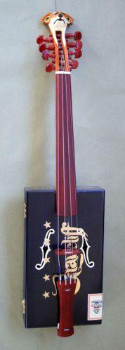 Cigar Box Hardanger Fiddle -- HUH?!! - Cigar Box Nation