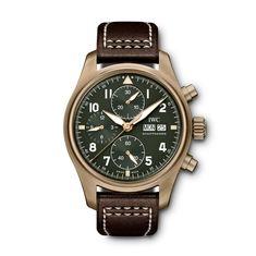 fd46486fd9 The IWC Pilot Chronograph Spitfire Bronze (Ref. IW387902) Iwc