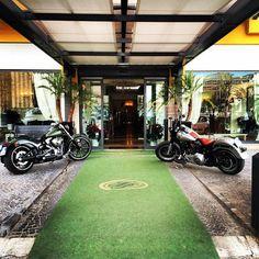 Il Trilussa Palace Hotel è lieto di accogliere gli appassionati del marchio Harley Davidson - The Trilussa Palace Hotel is glad to welcome the Harley Davidson's riders. Ride whit us!!!