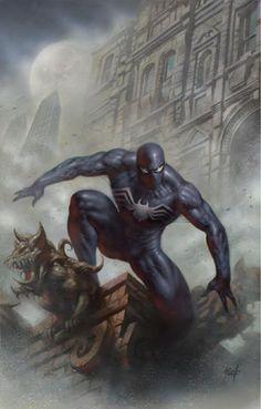 The Amazing Spider-Man #1 (2018) Sanctum Sanctorum C&O Store Exclusive Variant Cover by Lucio Parrillo