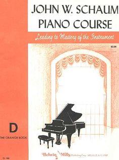 Schaum piano books