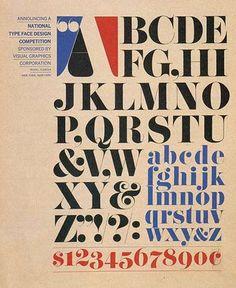 Pistilli Roman. Skapad av Lubalin och John Pistilli 1964.