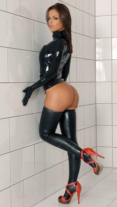 Hot latex porn