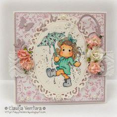 Cartão para troquinha amigo secreto grupo Magnolia Mania.