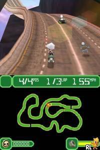 Crazy Frog Racer NDS es uno de los juegos de carreras más fáciles que he…