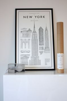 homevialaura | David Ehrenstråhle, Monumental Guide to New York | Harri Koskinen, Block