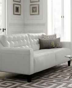 Natalia Leather Living Room Collection