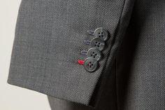 Grey Birdseye Wedding Suit — De Oost Bespoke Tailoring
