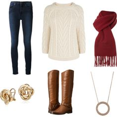 Once Upon a Time Inspired Outfit - Emma Swan