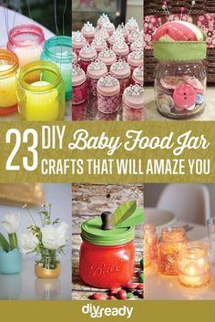 23 Clever DIY Uses of Baby Food Jars