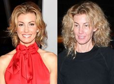 Faith Hill from Stars Without Makeup  This country star still looks pretty flawless without an ounce of CoverGirl. Should Mrs. McGraw just let her skin breathe?