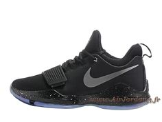 watch d3c51 df78d Nike PG 1 Noir 878627 ID3 Chaussures Nike Release Pour Homme noires-Air  Jordan série