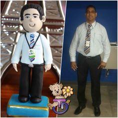 Muñeco personalizado,  #porcelanafría #craft #craft #panamá #507