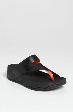 These are my new pair of FitFlops!  I got the leather/canvas version.  *The BEST summer footwear!