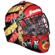 Chicago Blackhawks Players   Chicago Blackhawks Street Hockey Team Goalie Face Mask