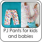 Skirts, shorts, pants, beach towel dress, pjs and more - sewing tutorials