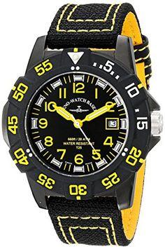 Bild ZENO HERREN 45MM SCHWARZ LEINEN… Casio Watch, Quartz, Watches, Basel, Shopping, Accessories, Black, Watch, Linen Fabric