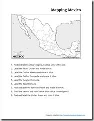 Off We Go to Mexico ~ Unit Study & Lesson Plansgreat for north america and other countries studies