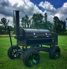 The No-Weld Double-Barrel Smoker (and How to Use It) - Bbq Grill Barrel Smoker, Bbq Pit Smoker, Diy Smoker, Homemade Smoker, Bbq Grill, Welding Jobs, Diy Welding, Welding Projects, Metal Welding
